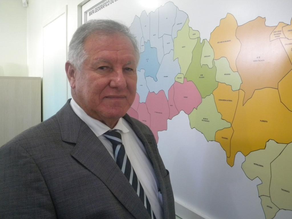 Mário Fernando Lins, presidente da Comissão Estadual de Honorários Médicos