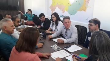 Também nesta terça-feira, representantes da Prefeitura de Jaboatão dos Guararapes apresentaram proposta de melhorias à categoria